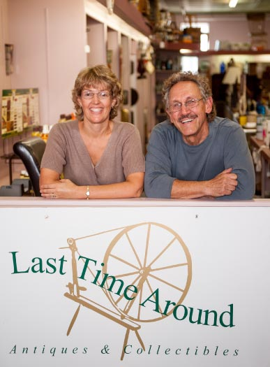 Sue Hudson & Terry Culver, Last Time Around Antiques (Robert Eddy)