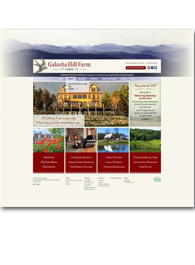 Website Development for Lodging Properties