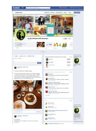 Facebook Pages Produced by Pam Knights Communications