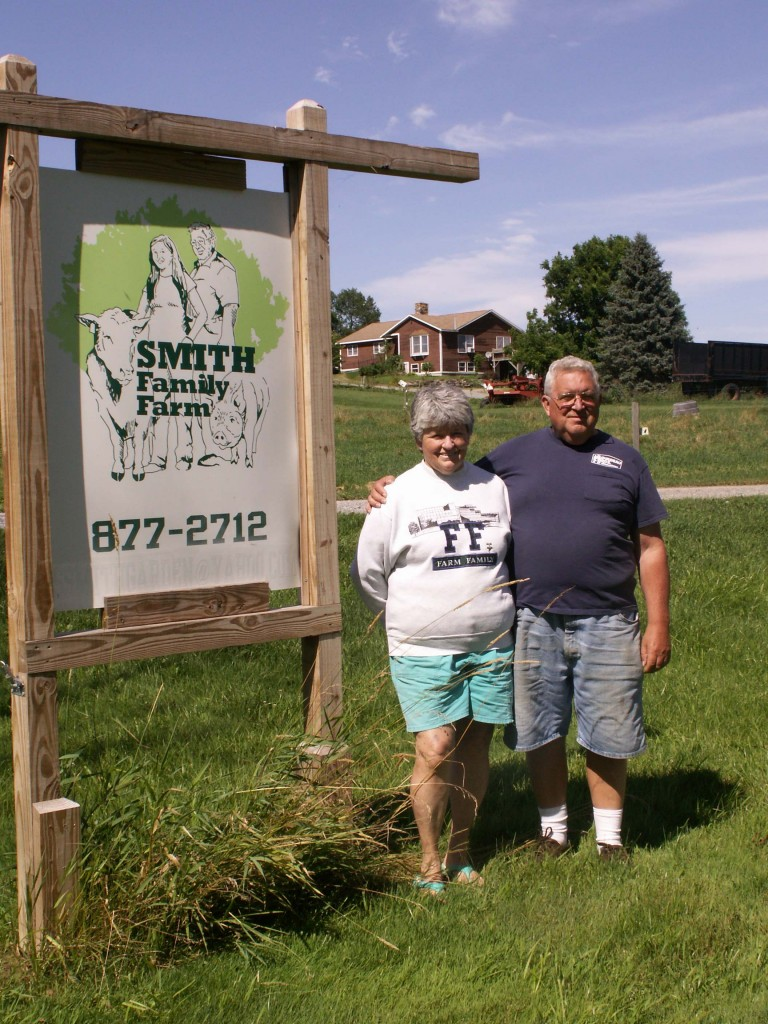 Harvey and Donna Smith, Smith Family Farm, New Haven Vt