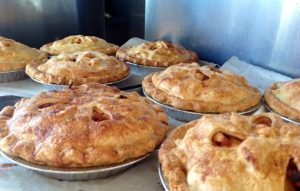 apple pies made with heirloom apples from Scott Farm Orchard