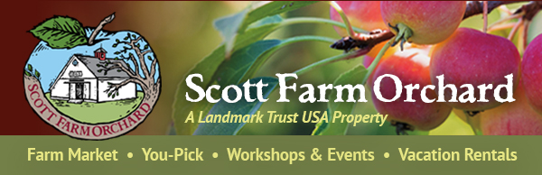 Ecampaign header created for Scott Farm Orchard by Pam Knights Communications